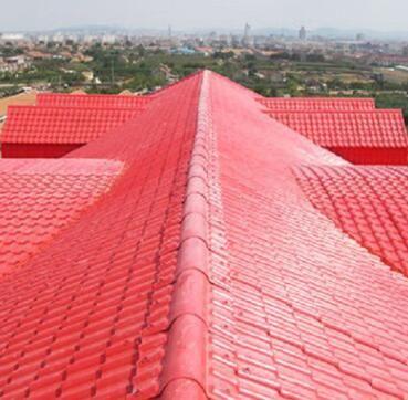 湖南长沙ASA合成树脂瓦 仿古瓦屋面 PVC 平改坡工程 厂