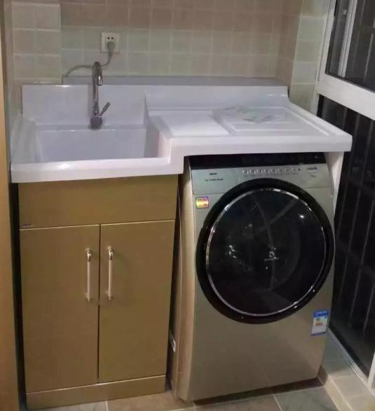 洗衣好帮手阳台柜
