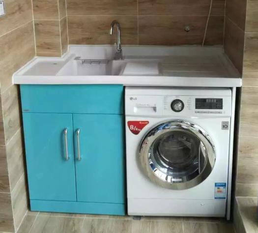 洗衣柜人造石台盆