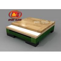 实木地板之运动木地板主辅结构柞木面板