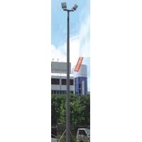 篮球场网球场足球场内外热镀锌菱形马路灯杆灯柱