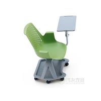 廣東高檔塑料培訓椅廠家批發360度旋轉培訓椅