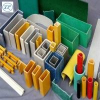 玻璃纤维U型材多种玻璃钢管材 玻璃纤维角钢价格
