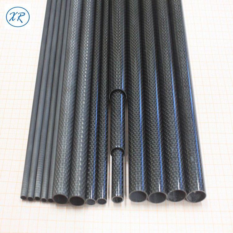 碳纤纤维管 3K碳素纤维管多种规格碳纤管支架 哑光碳纤管