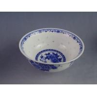 传统青花玲珑瓷碗