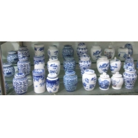 茶叶罐-陶瓷茶叶罐-青花瓷礼品罐子