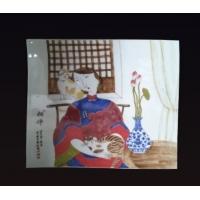 陶瓷瓷板画-景德镇瓷板画-家居客厅装饰瓷板画