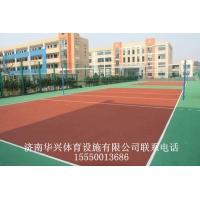 硅pu篮球场施工单位济南华兴体育设施