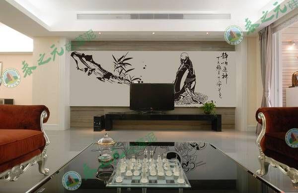 春之元硅藻泥电视背景墙系列