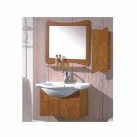 尺度卫浴-橡木雕花浴室柜