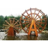 木制水车防腐木水车园林景观水车私家水车大水车