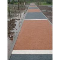 上海透水地坪,彩色水泥,渗水路面铺装