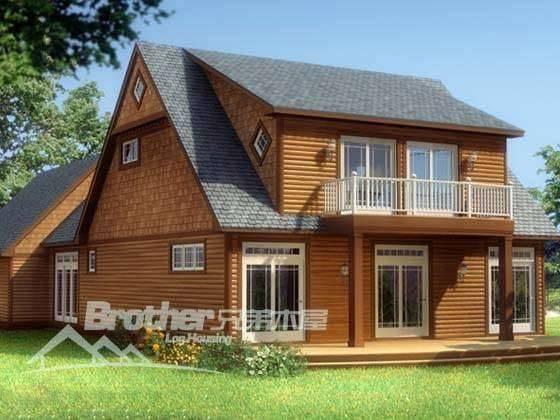 别致的小木屋 木别墅