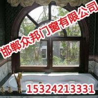 铝包木门窗-众邦门窗-邯郸高档铝包木门窗
