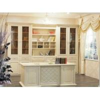 豪姆集成家居定制福州定做整体书柜吸塑定制整体实木书柜定做