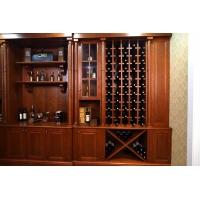 豪姆集成家居定制福州定做整体酒柜橱柜衣柜定制整体实木酒柜定做