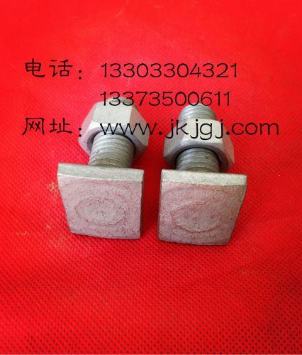 供应方头螺栓-用于标志牌后侧的滑动槽-固定不转动的作用