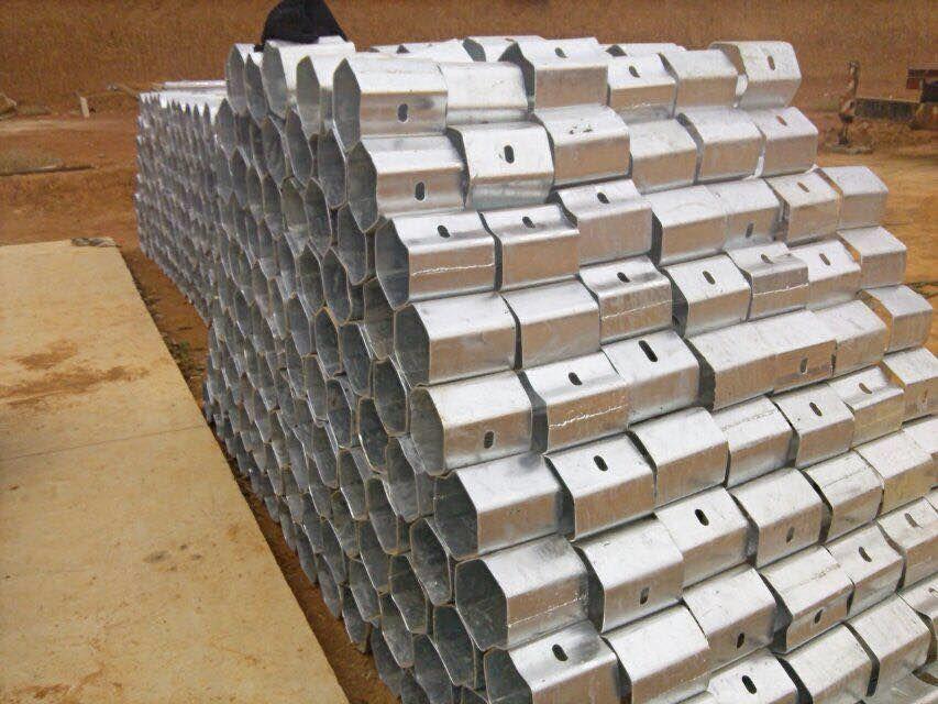 供应高速公路护栏板配件产品-防阻块-柱帽-端头-金坤牌