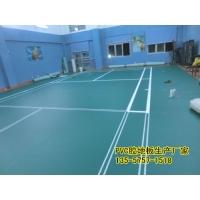 南宁运动专用羽毛球馆PVC胶地板现货价格