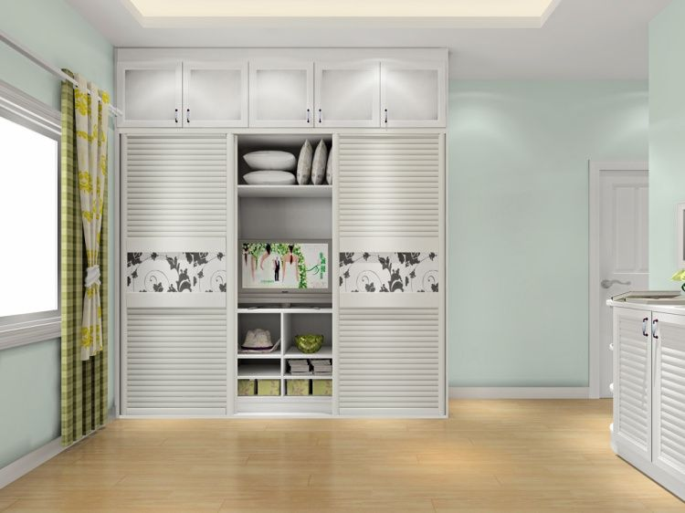 免漆板上可以刷漆吗 衣柜门效果图大全2014