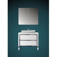 高档简洁高脚组合式浴室柜