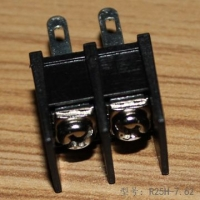 高质量现货栅栏式接线端子R25H-7.62带螺丝式接线端子