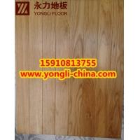 永力体育地板厂销售枫木篮球地板、柞木羽毛球木地板