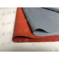 浙江银灰色涂层布 防火卷帘用玻纤布