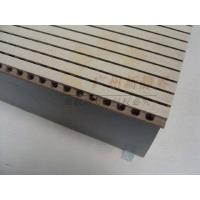 木质穿孔吸声结构