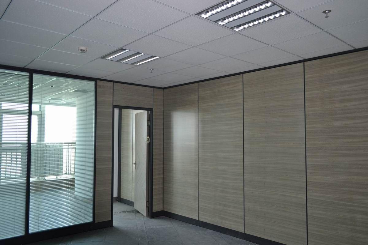 正丰唯美-固定玻璃隔墙、不锈钢隔断