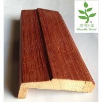 实木贴皮木线条:门套线、地脚线、天花线等