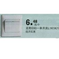 武汉百安居—龙胜E60-单开关