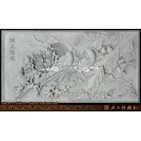 石材雕刻/花鸟浮雕壁画/传统浮雕