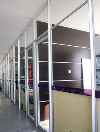 铝合金成品办公高隔墙