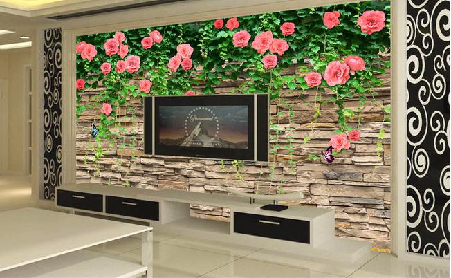 斯卡洛新款电视背景墙