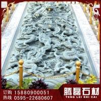 石雕浮雕御路 青石寺庙浮雕 壁雕 园林古建石雕工艺