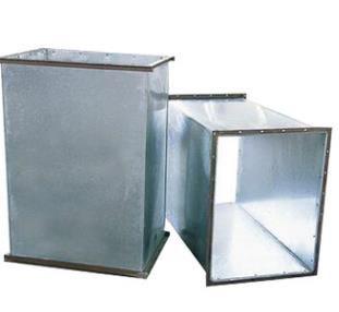 镀锌钢板风管 通风管道 共板法兰风管厂家加工制作OEM代加工