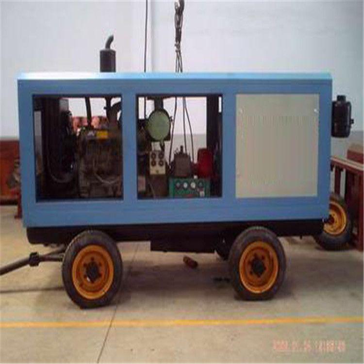 柴油动力风冷移动活塞式空气压缩机