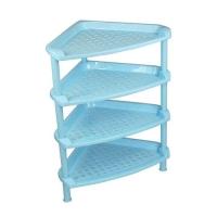 6021新款三角形浴室置物架多功能置物架塑料防水储物架角架