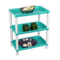 大号长方形厨房置物架塑料多功能卫浴置物架家居储物架