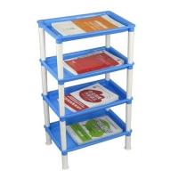 精装版书架置物架简易塑料置物架