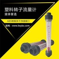 管道式转子流量计液体PVC管塑料浮子流量计
