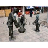 福建铸铜雕塑 人物雕塑 主题性雕塑 仿古铜人物玻璃钢雕塑