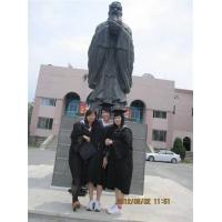 浙江公园景观雕塑 校园人物塑造 人物景观砂岩石雕雕塑