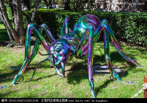 江苏雕塑景观专业制作蚂蚁玻璃钢雕塑 不锈钢树脂雕塑