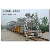 上海零爵雕塑建筑微景观火车制作玻璃钢雕塑