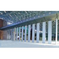 热销泉州市餐厅酒店分隔空间移动屏风 可推拉折叠厂家