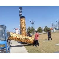 玻璃钢祥云柱定做,北京玻璃钢雕塑,科林斯柱式定做