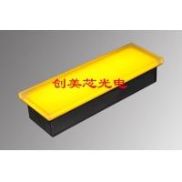 LED长方形地砖灯_广场条形发光砖_长条形地砖灯
