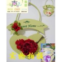 花卉实木挂饰